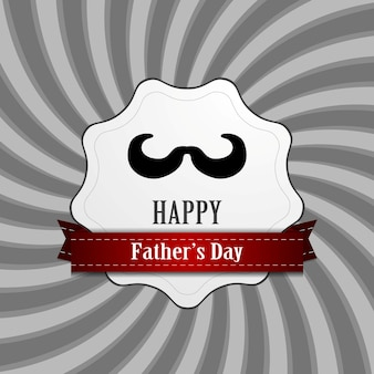 Father's day abstract retro vintage background. vector design illustration