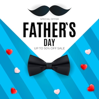 Father's day baanner sale