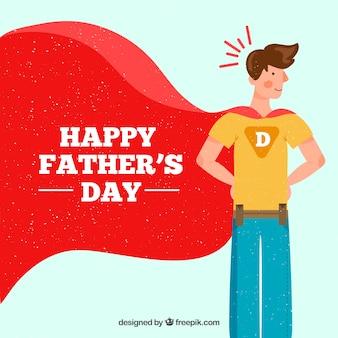 День отца с супер папой