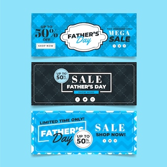 Father's day banners with sale