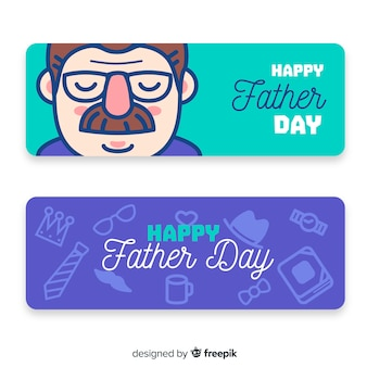 Father's day banners