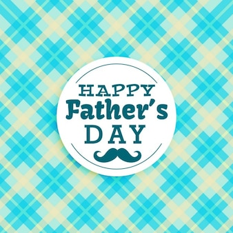 Father's day card with abstract shapes