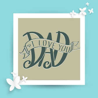 Father's day card.