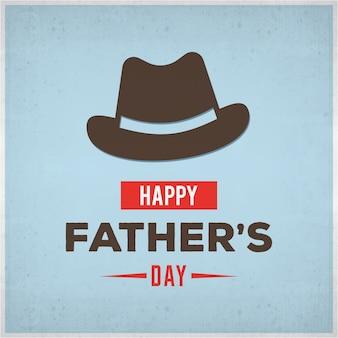 Happy fathers day vettore tipografia lettering d'epoca per biglietti di auguri striscioni la maglietta