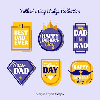 Father's day label collection