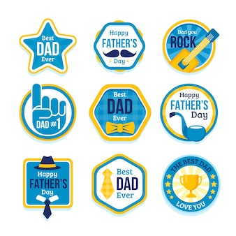 Father's day label pack