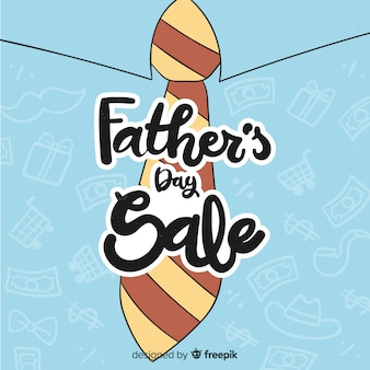 Father's day sale background