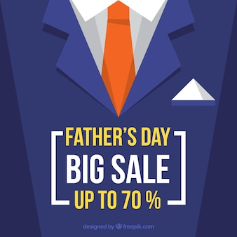 Father's day sale template