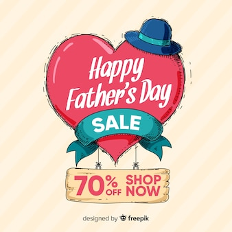 Father's day sales background