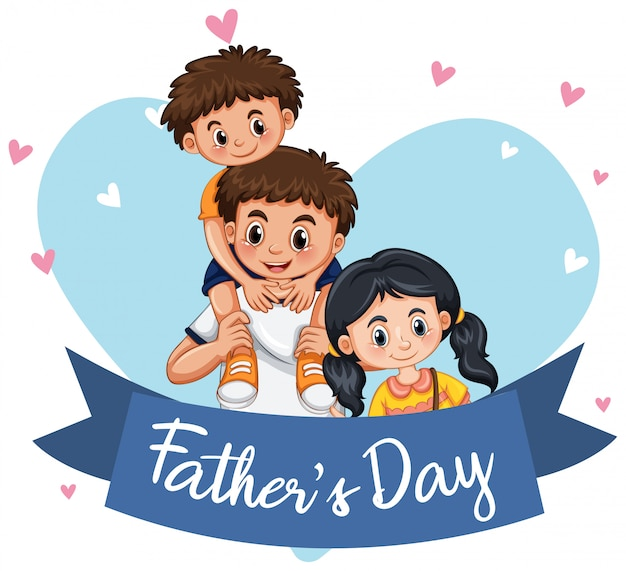 A father's day template