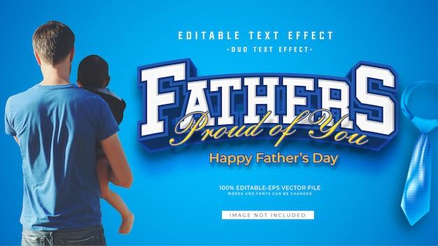 Эффект текста отца
