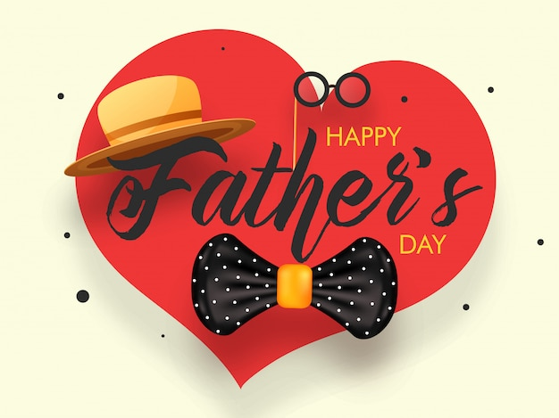 Fathers day background.
