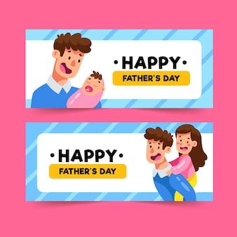 Banner per la festa del papà