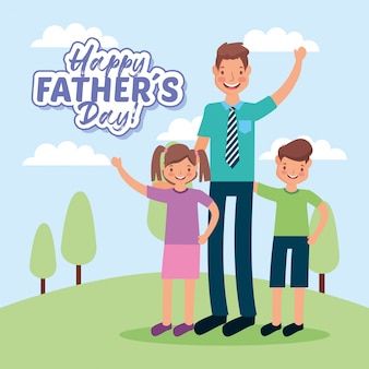 Fathers day cartoons