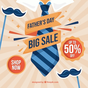 Fathers day sale background