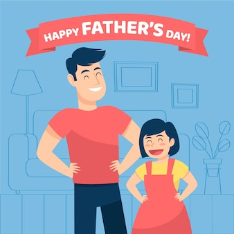 お父さんと娘の父の日