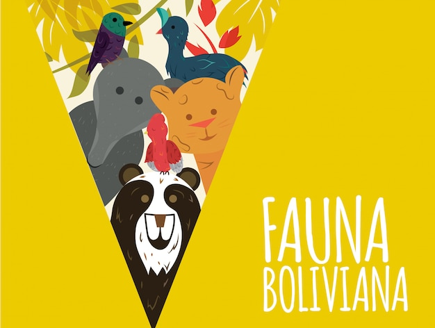 Fauna boliviana