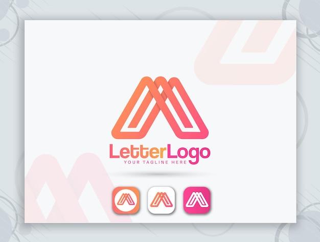 Дизайн фавикона и дизайн буквенного логотипа