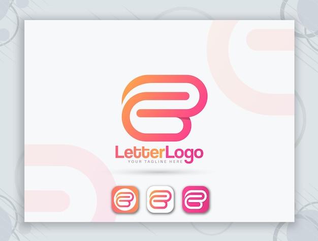 Favicon design and letter logo design