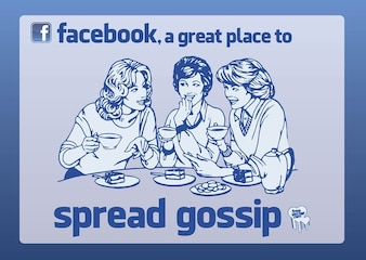 FB a great place to gossip