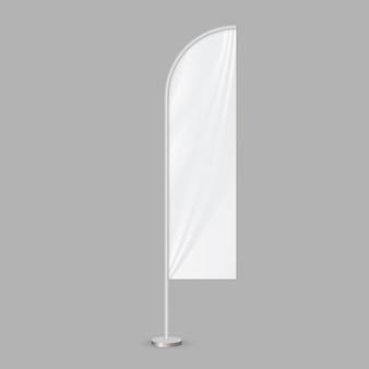 Feather beach flag