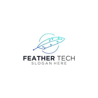 Feather technology logo