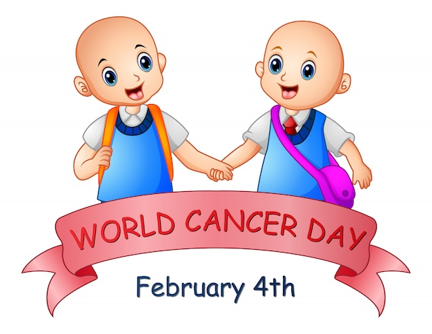 February 4, world cancer day poster