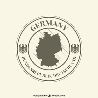 Federal republic of germany label