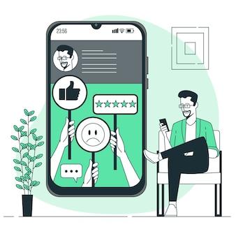 Feedbackconcept illustration