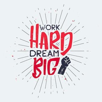 Хороший позитивный типографский вдохновляющий плакат с дизайном футболки с мотивацией к жизни
