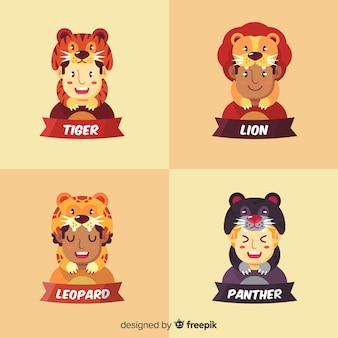 Feline costume collection
