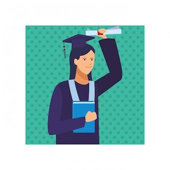 диплом выпускницы