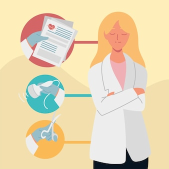 Женский гинеколог врач отчет медицинский