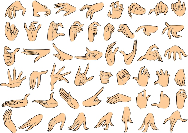 Female hand poses vol 2