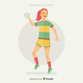 여자 핸드볼 선수