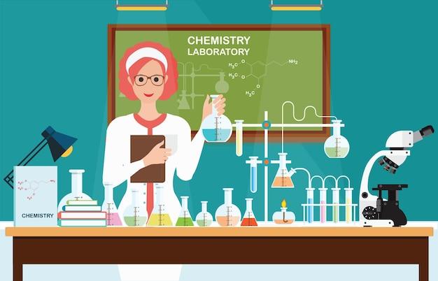 化学研究所の女性科学者