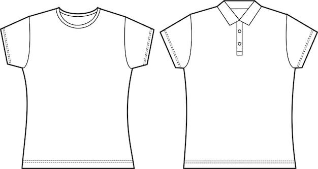 Female t shirt mock up
