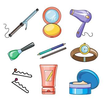 Female and women accessories icon