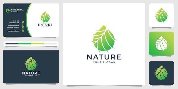 Женский цветочный дизайн логотипа спа-лотоса и визитная карточка. креативный стиль линии цветочный дизайн спа с лотосом