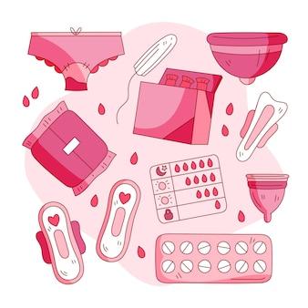女性用衛生用品セット
