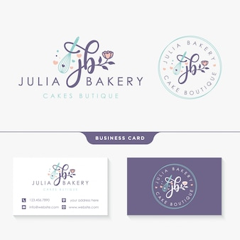 Feminine logo collections design template
