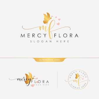 Feminine logo collections template