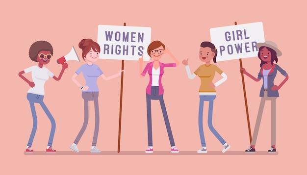 フェミニストの社会運動