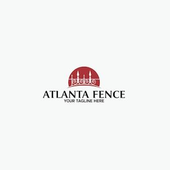 Атланта fence logo