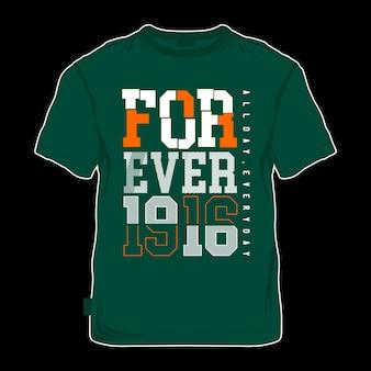Ferever words for t shirt printing