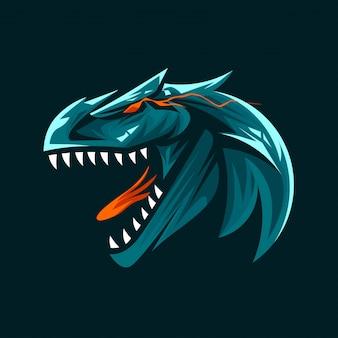 Ferocious dinosaur