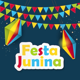 Festa junina background.