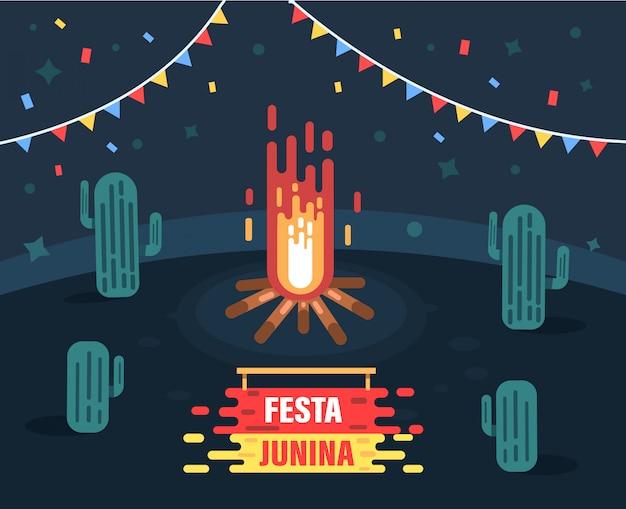 Festa junina background.