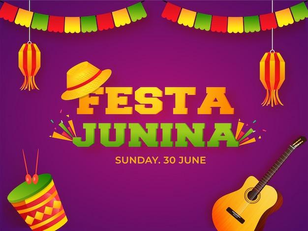 Festa junina banner