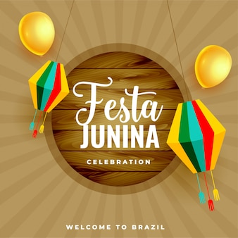 Festa junina brazil june festival celebration background